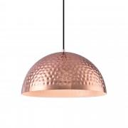 [lux.pro]® Dekoratívní designové závěsné svítidlo / stropní svítidlo - měděné–bílé (1 x E27) HT169924