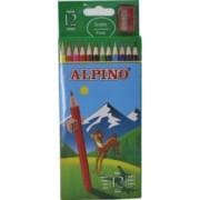 Creioane colorate ALPINO cutie carton 12 culori-set