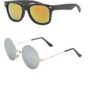 Vars Rectangular Sunglasses(Multicolor)