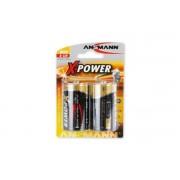 Ansmann Batteri Ansmann Mono D LR20 1,5V, 2-pack