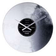 Zegar ścienny Nextime Silver Record 8117