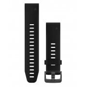 Garmin QuickFit 20 Silikon Normal - Klockarmband - Svart