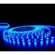 Kültéri led szalag, kék, öntapadós, 60Led/m, 12 V DC, 4.8W/m IP54 Adeleq LUM30-3412114 Lumen - 5 m
