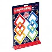 Magformers Square Set, Multi Color (6 Pieces)