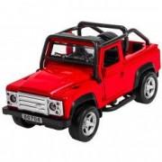 Masinuta metal Jeep Safari rosu lumini