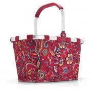 reisenthel - carrybag, paisley ruby