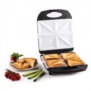 Klarstein Trinity 3in1 Sandwich Maker XXL 1300 W schwarz