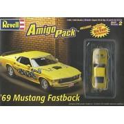 #6687 Revell '69 Mustang Fastback Amigo Pack 1/25 Scale Plastic Model Kit