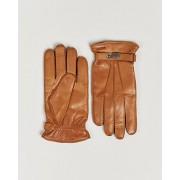 Hestra Jake Wool Lined Buckle Glove Cognac