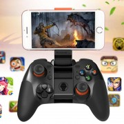 RKGAME 4e Wireless Bluetooth Gamepad Game Controller voor Android & iOS & PC (zwart)