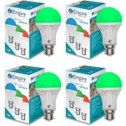 SWARA B22 7W COLOR LED BULB GREEN- PACK OF 4