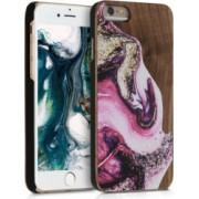 Husa iPhone 6 / 6S Lemn Maro 46078.11