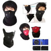 Imported Winter Care Bike Face Mask /Neoprene Neck Warm Half Face for all bike lovers/biking
