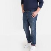 LA REDOUTE COLLECTIONS PLUS Regular-Jeans, Plus-Size-Artikel, kontrastfarbener Umschlag