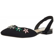 Clarks Women's Amulet Rosa Black Sde Leather Fashion Sandals - 5 UK