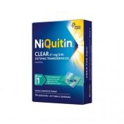 NiQuitin Clear Pensos 21mg - Fase 1 - 14 Dias