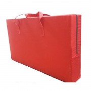 Geanta transport saltea pliabila 200x60 cm, rosu