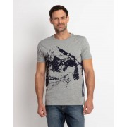 Gentlemen Selection T-Shirt mit Mountain-Print