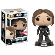 Funko Pop Exclusivo Jyn Erso Black Suit Rogue One Star Wars