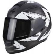 Scorpion Casco Moto Integrale Exo-510 Air Marcus Matt Dark Silver White