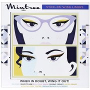 Mintree Stick-On Wing Eyeliners Classic Black Disco Brown