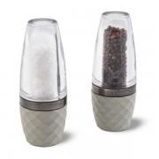 Комплект мелнички за сол и пипер COLE & MASON CITY CONCRETE GUN METAL
