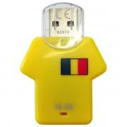 Stick de memorie Hama Shirt 123930 USB 2.0 16GB galben