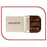 USB Flash Drive 16Gb - A-Data DashDrive UC360 OTG USB 3.1/MicroUSB Gold AUC360-16G-RGD