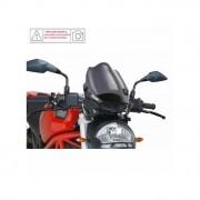 PUIG 4672F Cupolino Naked New Generation Per Ducati Monster 696 Del 2008 Dimensioni Np Colore Fume' Scuro Versione Sport