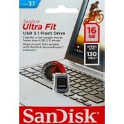 SanDisk Ultra Fit USB3.1 USB‑minne 16GB