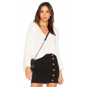 Free People Sand Dune Pullover in White. - size M (also in L,S,XS)