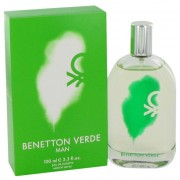 Benetton Verde Eau De Toilette Spray 3.3 oz / 97.6 mL Fragrance 479490