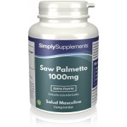 Simply Supplements Saw Palmetto 1000mg - 120 Comprimidos