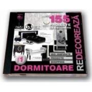 CD 155 proiecte de decoratii pentru dormitoare - vol 1