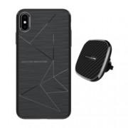 Set Husa Magnetica Nillkin Magic Case Apple iPhone Xs Max si Incarcator auto Wireless Magnetic Nillkin II Tip B
