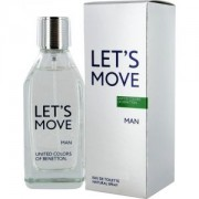 Let's Move Man BENETTON 40 ml Spray, Eau de Toilette