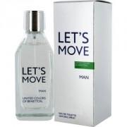 Let's Move Man BENETTON 40 ml Spray Eau de Toilette