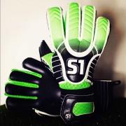 Вратарски ръкавици S1 Eternal (Зелено/Черно)