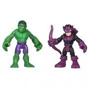 Playskool Heroes Marvel Super Hero Adventures Hulk and Marvels Hawkeye