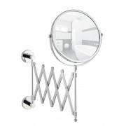 WENKO Power-Loc® Teleskop Kosmetikspiegel Elegance, Befestigen ohne bohren