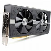 SAPPHIRE Video Card AMD RADEON NITRO RADEON RX 580 8G GDDR5 DUAL HDMI / DVI-D / DUAL DP W/BP UEFI 11265-01-20G