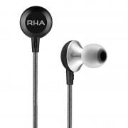 RHA MA600 - слушалки за iPhone, iPod, iPad и мобилни устройства (черен)
