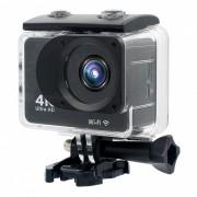 Mini impermeable 4K Full HD Wi-Fi Sport camara con memoria de 32 GB - Negro