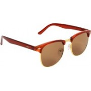 ABNER Clubmaster Sunglasses(Brown)