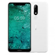 Nokia 5.1 Plus DS, бял