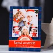 Fényképes karácsonyi fotópanel