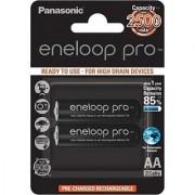 Panasonic 2XAA Eneloop PRO AA Rechargeable Ni-MH Battery 2500mAh 2Pcs