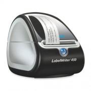 Dymo labelwriter 450 – labelprinters (Direct warmte, 600 x 300 dpi, zwart, Zilver, USB 2.0, serieel, Windows XP/Vista/7 Mac OS v10.4, DYMO Label 8)