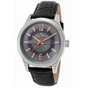 Lucien Piccard grey20535 Lucien Piccard Men's LP-40020-014-RA Oxford Analog Display Quartz Black Watch Watch - For Men