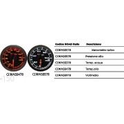 Manometro Pressione olio CLWA5227B black Line